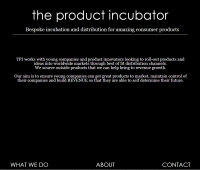 Diseño Web The Product Incubator