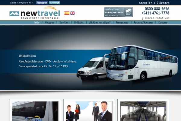 Diseño Web ABC Newtravel