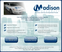 Diseño de Newsletter Madison Security